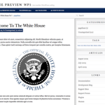 WhiteHouse Theme for WordPress Updated