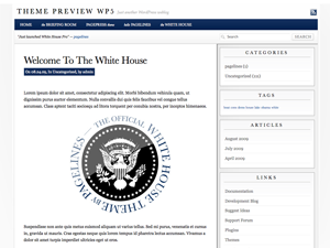 WhiteHousePro3 Theme