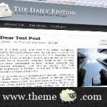 The Daily Edition Magazine Style WordPress Theme