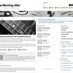 The Morning After Magazine-Style Theme for WordPress