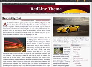 RedLine theme