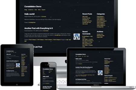 Constellation Theme for WordPress