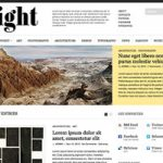 Sight 1.0.1 Magazine Style WordPress Theme