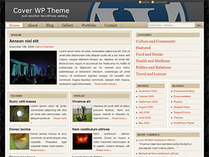 Cover WP Theme