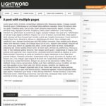 LightWord WordPress Theme