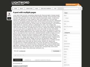 LightWord WordPress Theme