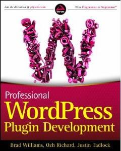 Professional WordPress Plugin Development Book
