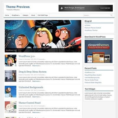 XS WordPress Theme