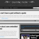 WordPress Distinction Theme