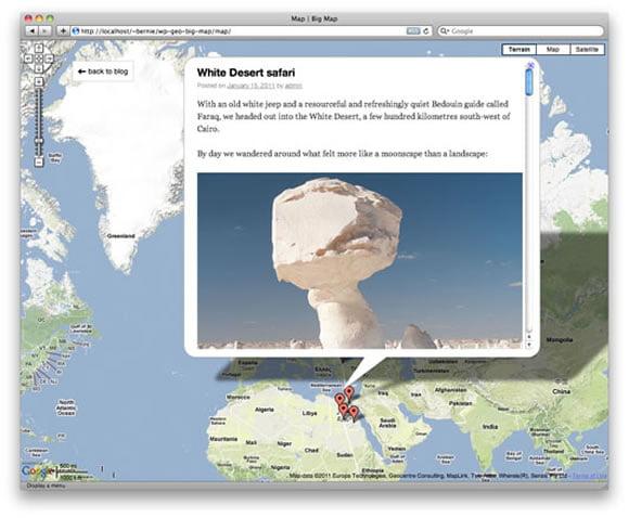 WP-Geo Big Map