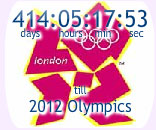 Olympic Games Countdown Clock