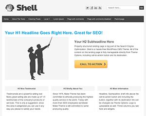 Shell Lite Theme for WordPress