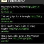 WordPress Twitter Profil Widget