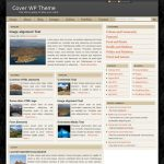 Cover WP Theme for WordPress