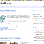 Undedicated Theme for WordPress