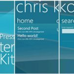 Windows Phone Starter Kit for WordPress