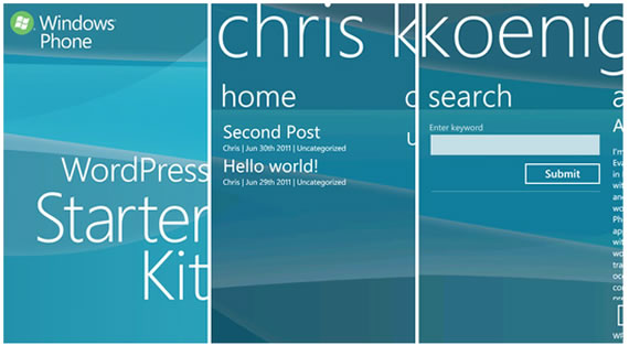 Windows Phone Starter Kit