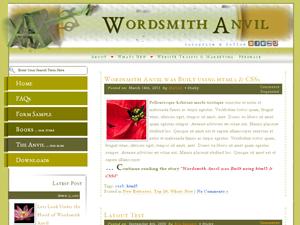 Wordsmith Anvil Theme