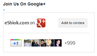 Google Plus Badge Direct Connect
