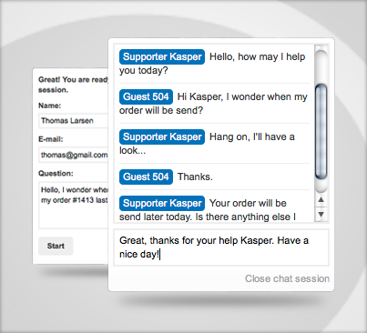 Live Chat by cSupport