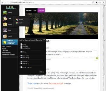 Lubith Customized WordPress Theme Creator Review