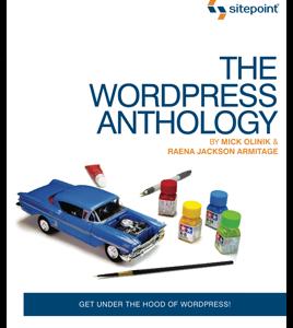 SitePoint Announce WordPress Website Design Anthology