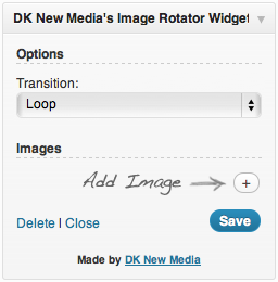 DK New Media's Image Rotator Widget
