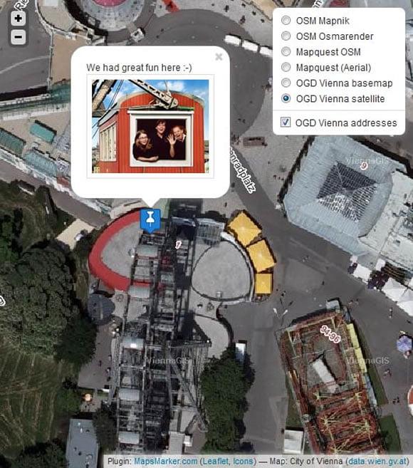 Leaflet Maps Marke