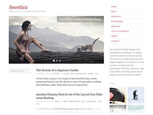 Ascetica Theme for WordPress