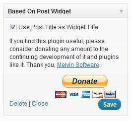 Based On Post plugin