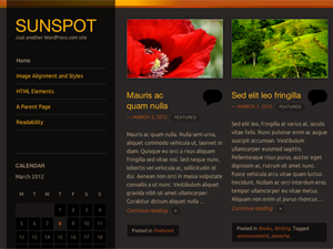 Sunspot Theme for WordPress