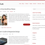 Radius Theme for WordPress