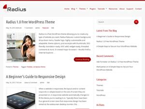 Radius Theme for WordPress
