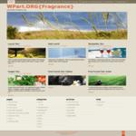 Fragrance Theme for WordPress