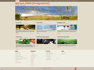 Fragrance Theme