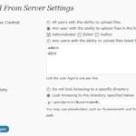 Add from Server for WordPress