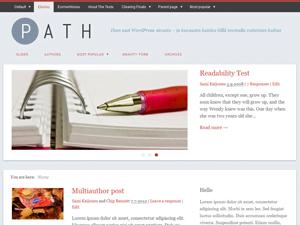 Path Magazine Theme