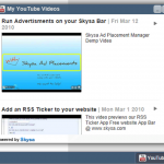 Skysa YouTube Videos App for WordPress
