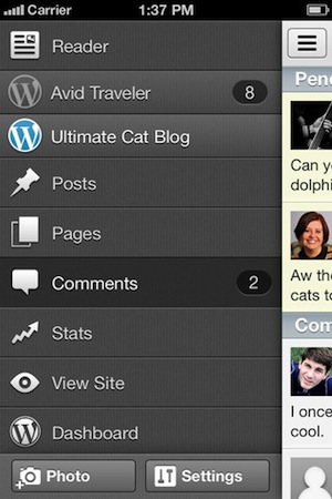 WordPress for iOS 3.1