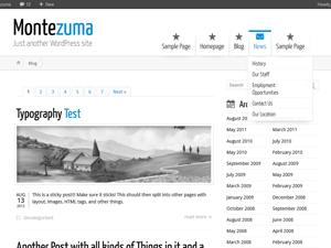 Montezuma Theme for WordPress