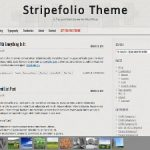 Stripefolio Theme for WordPress
