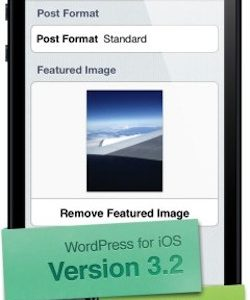 WordPress for iOS updated to Version 3.2