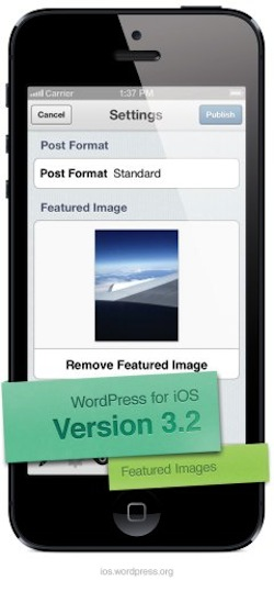 WordPress for iOS  Version 3.2