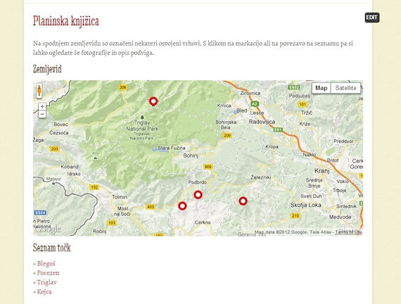 Posts on a map for WordPress