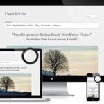 Clean Retina Theme for WordPress