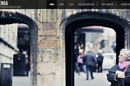Lensa photography Theme for WordPress