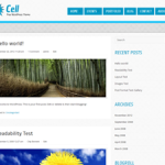 Cell Theme for WordPress