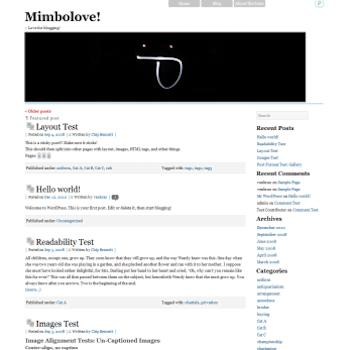 Mimbolove Theme