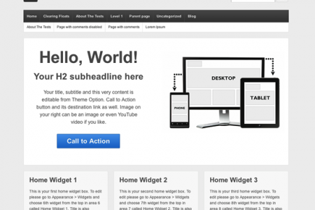 Responsive Theme for WordPress