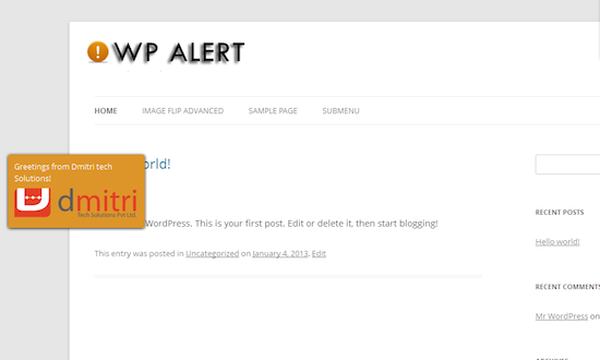 WP Alert